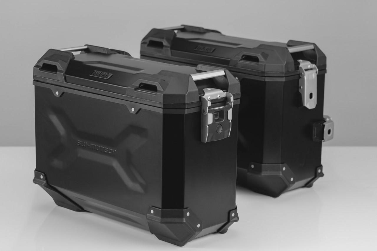 Suzuki V-Strom 650 / XT (17-) - sada bočních kufrů TRAX Adventur