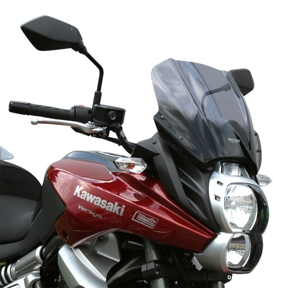 Kawasaki Versys 650 (10-14) čiré plexi MRA touring