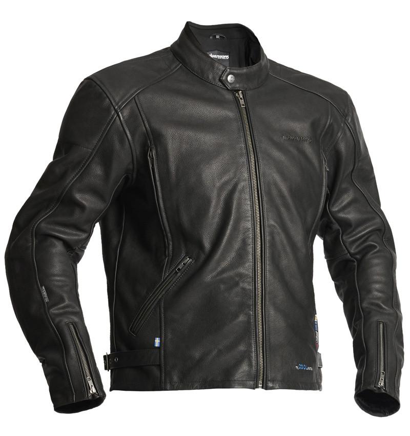 Halvarssons Celtic, černá kožená bunda
