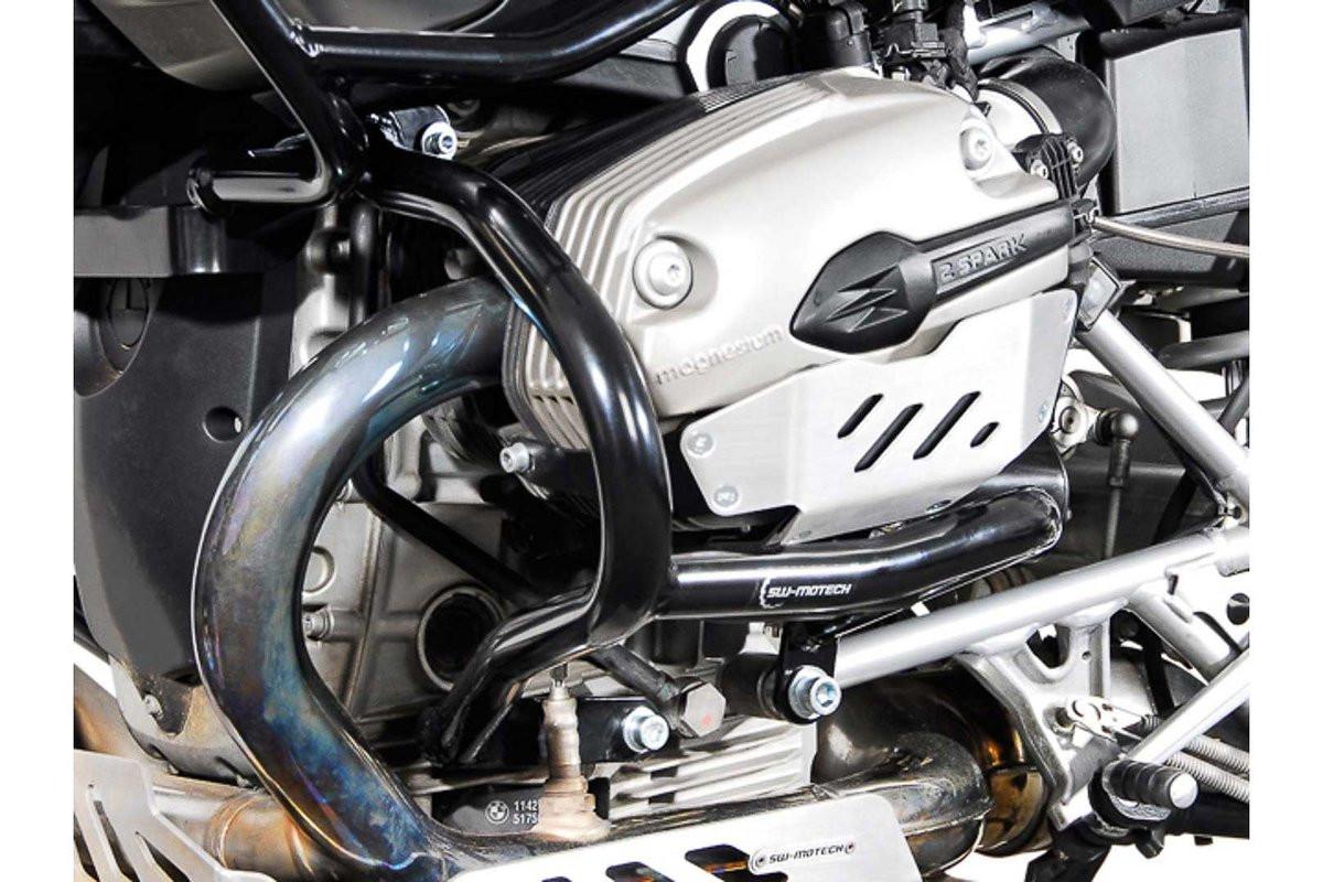 BMW R 1200 GS (04-12) spodní padací rám SW-Motech černý