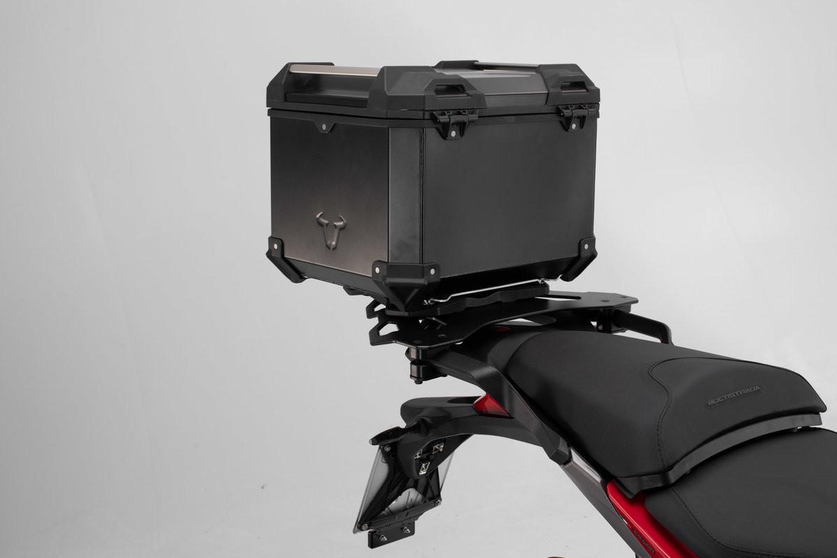 Honda CB 500 F (19-) - Sada horního nosiče s kufrem TRAX Adventu