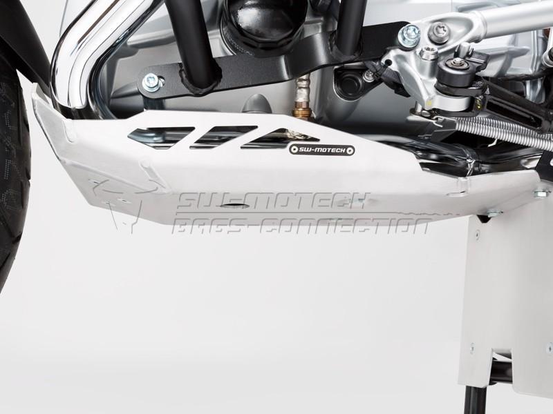 BMW R 1200 GS LC Rallye (17-) - kryt motoru SW-Motech stříbrný