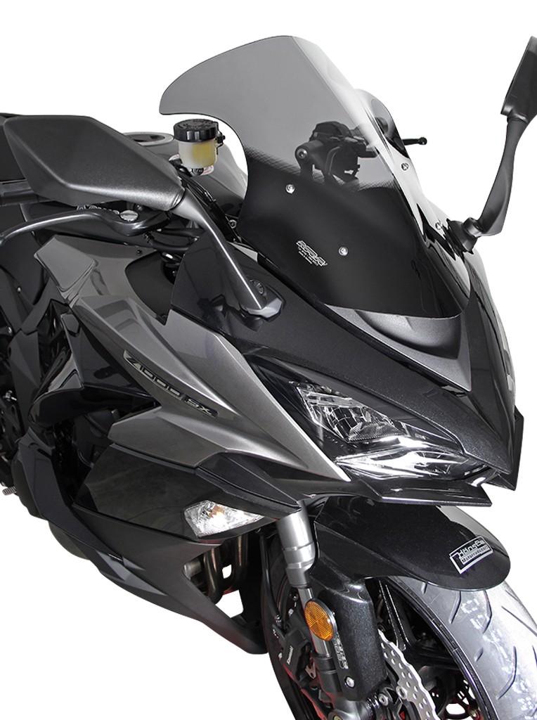 Kawasaki Z 1000 SX (17-19) - MRA čiré plexi tvar Racing