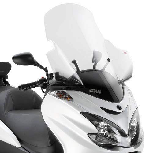 Yamaha Majesty 400 (09-) - plexi čiré Givi 445DT