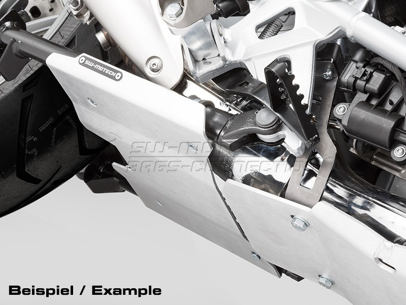 BMW R 1250 GS (18-) - prodloužení krytu motoru SW-Motech, stíříb