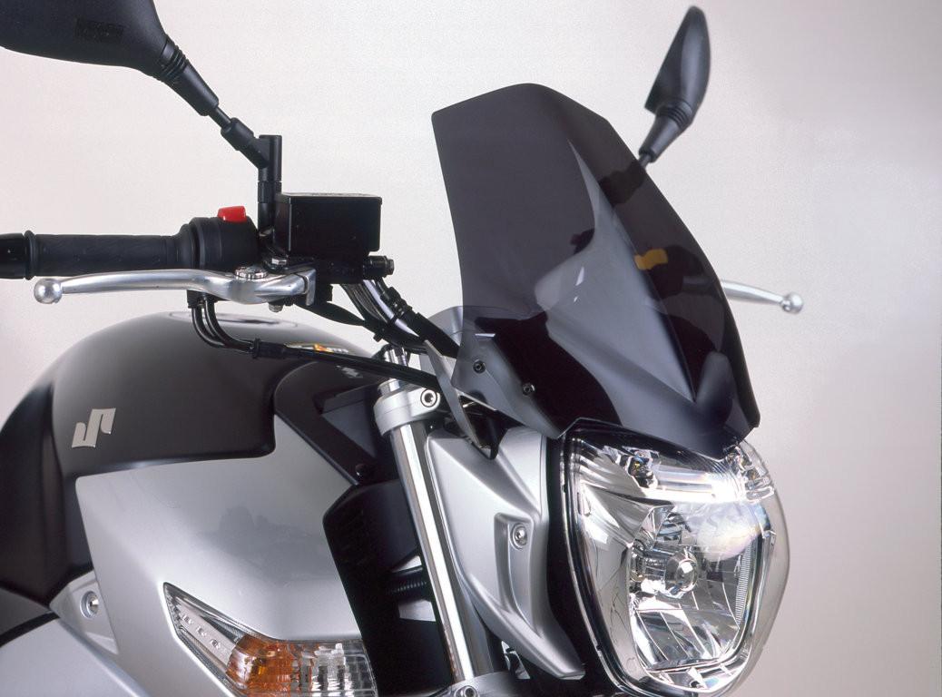 Suzuki GSR 600 (06-11) - tmavě kouřové plexi Puig Naked New Gene