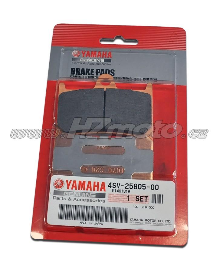 Yamaha XJR 1300 (99-) Brzdové destičky přední - originál Yamaha