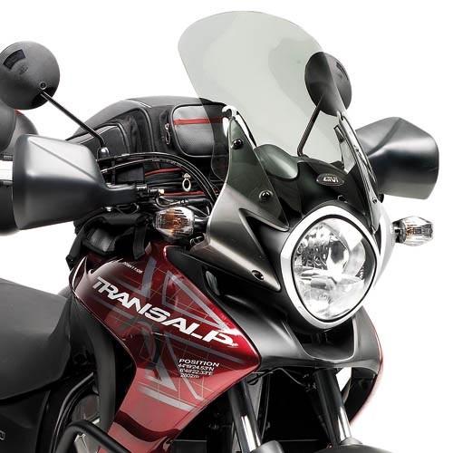 Honda XL 700 V Transalp (08-) plexi kouřové Givi D313S