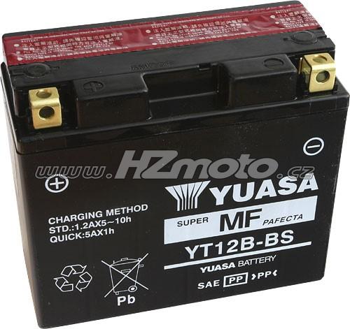 Motobaterie Yuasa YT12B-BS 12V 10Ah