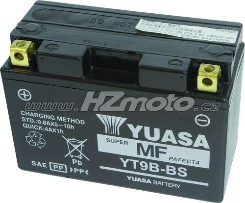 Motobaterie Yuasa YT9B-BS 12V 8Ah