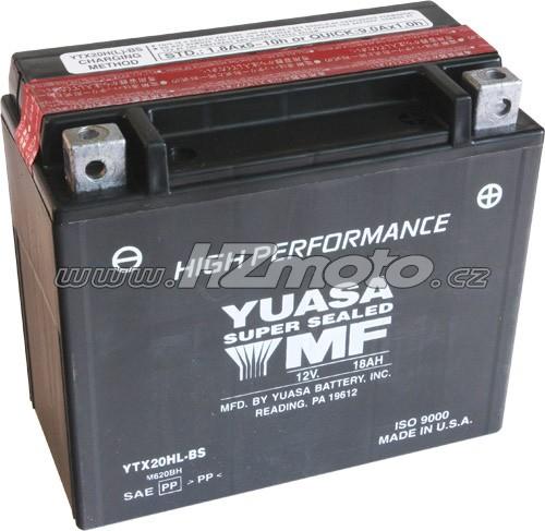Motobaterie Yuasa YTX20HL-BS 12V 18Ah