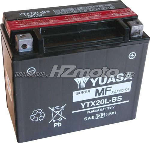 Motobaterie Yuasa YTX20L-BS 12V 18Ah