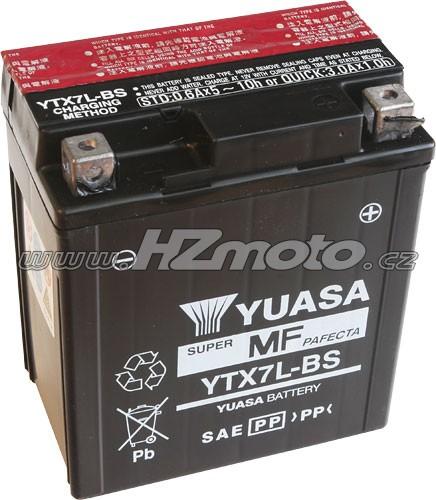 Motobaterie Yuasa YTX7L-BS 12V 6Ah