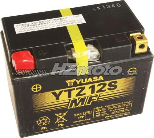 Motobaterie Yuasa YTZ12S 12V 11Ah