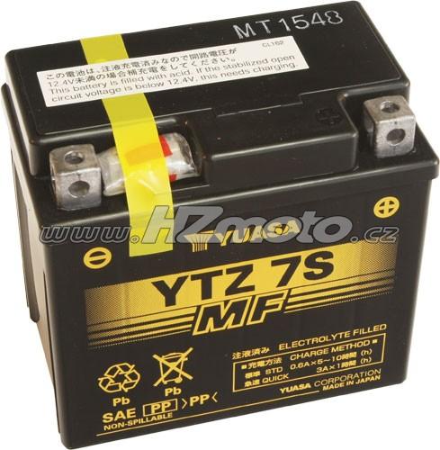Motobaterie Yuasa YTZ7S 12V 6Ah