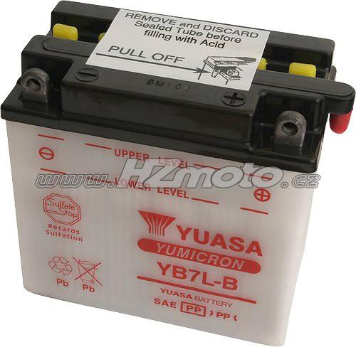 Motobaterie Yuasa YB7L-B 12V 8Ah