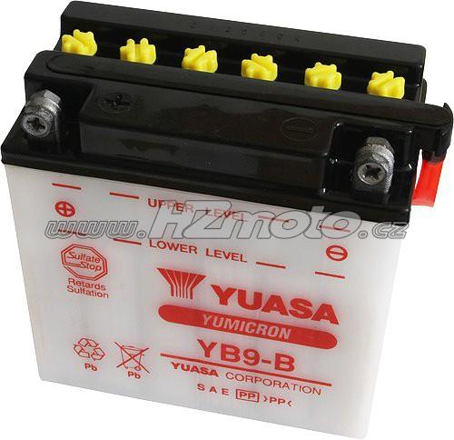 Motobaterie Yuasa YB9-B 12V 9Ah