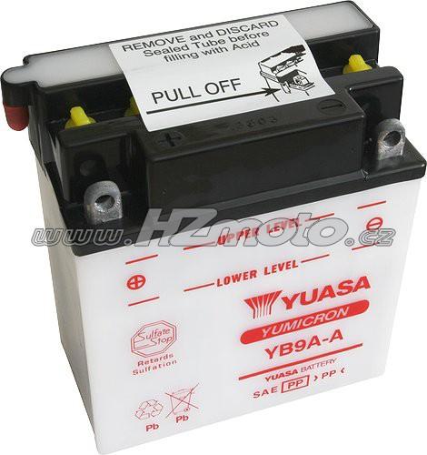 Motobaterie Yuasa YB9A-A 12V 9Ah