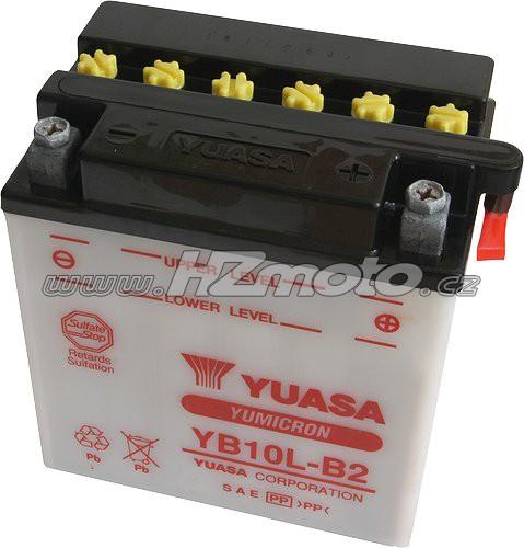 Motobaterie Yuasa YB10L-B2 12V 11Ah