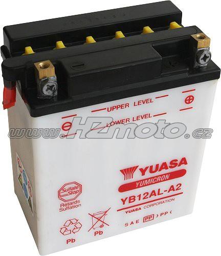 Motobaterie Yuasa YB12AL-A2 12V 12Ah