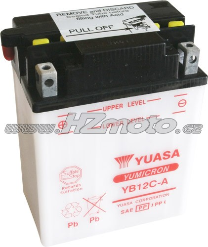 Motobaterie Yuasa YB12C-A 12V 12Ah