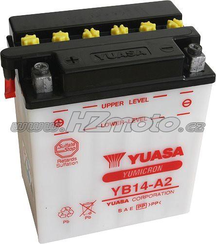 Motobaterie Yuasa YB14-A2 12V 14Ah