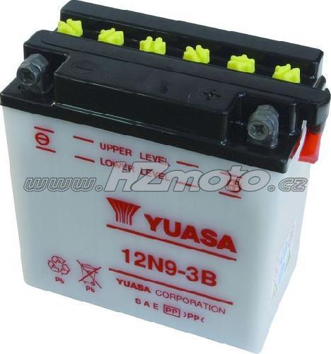 Motobaterie Yuasa 12N9-3B 12V 9Ah