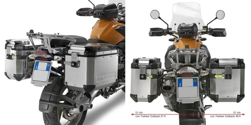 BMW R 1200 GS (04-12) nosič bočních kufrů Givi Trekker Outback,