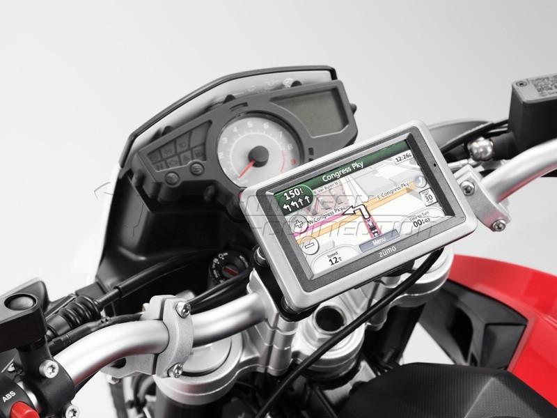 BMW F 800 R (09-) / F 800 GT (12-) - QUICK-LOCK držák GPS, SW-Mo
