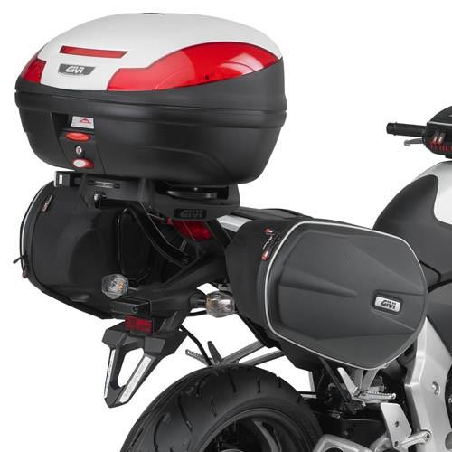 Honda CB 1000 R (08-17) - trubkový držák brašen EASYLOCK Givi TE