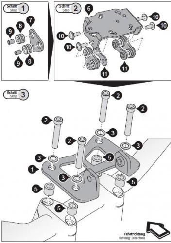 Honda CB 1000 R (08-17) - držák GPS SW-Motech