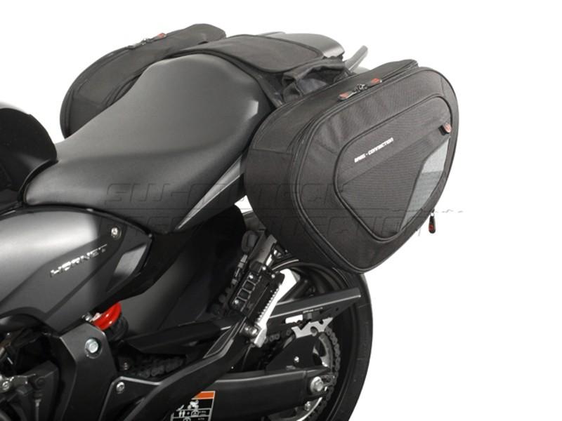 Honda CB 600 F Hornet (07-) sada sedlových tašek BLAZE® a držáků