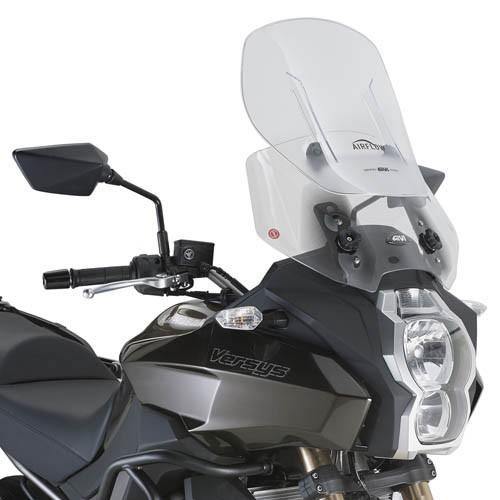 Kawasaki Versys 1000 (12-) - čiré plexi Givi AF4105