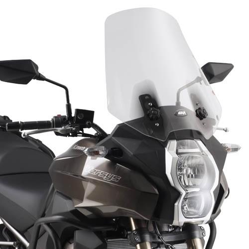 Kawasaki Versys 1000 (12-) - čiré plexi Givi D4105ST