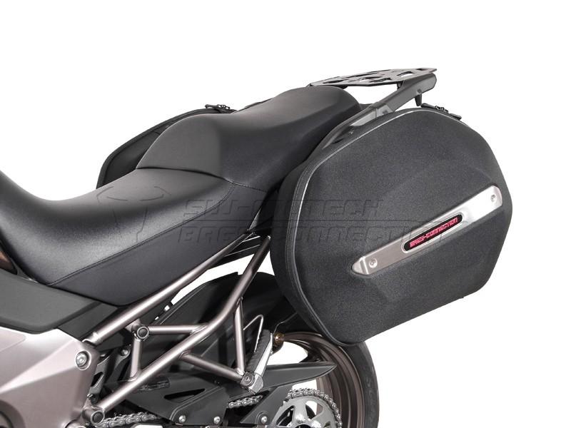 Kawasaki Versys 1000 (12-) - kompletní sada AERO kufrů, nosič, a