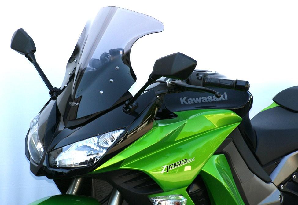 Kawasaki Z 1000 SX (11-16) - MRA čiré plexi tvar Racing