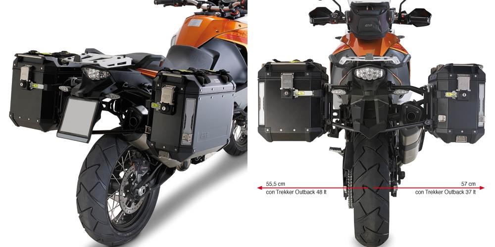 KTM Adventure 1190 / R (13-) - nosič hliníkových bočních kufrů G