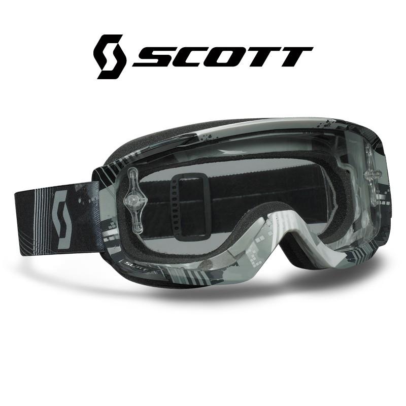 Motokrosové brýle SCOTT SPLIT OTG Targent Grey , čiré sklo