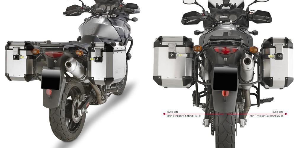 Suzuki DL 650 V-Strom (04-11) - nosič hliníkových bočních kufrů