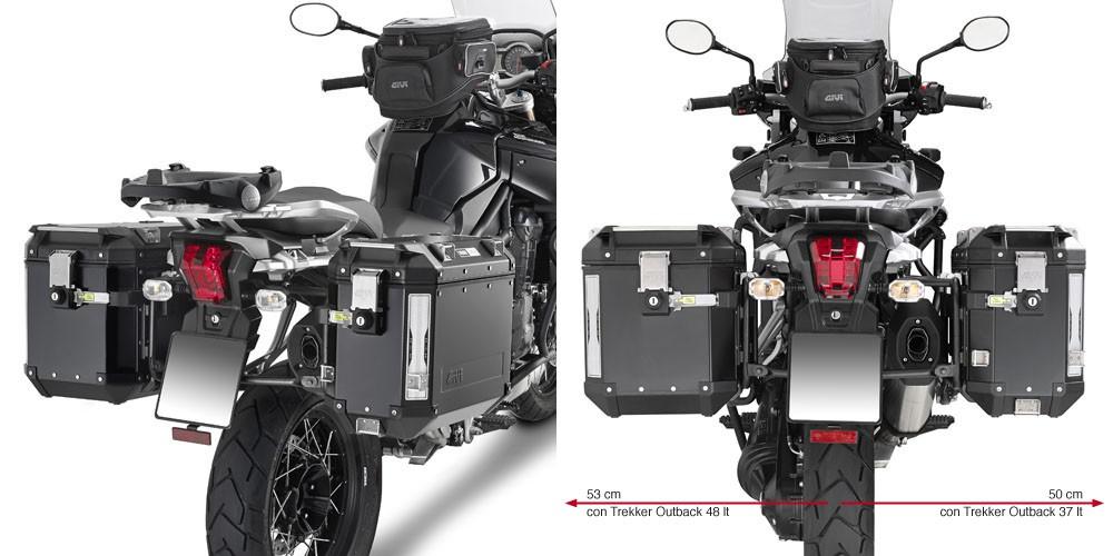 Triumph Tiger Explorer 1200 (12-) - nosič bočních kufrů Givi Tre