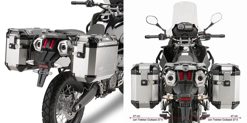 Yamaha XT 660 Z Ténéré (08-) - nosič bočních kufrů Givi Trekker