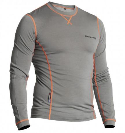 Halvarssons Light Wool Sweater Grey