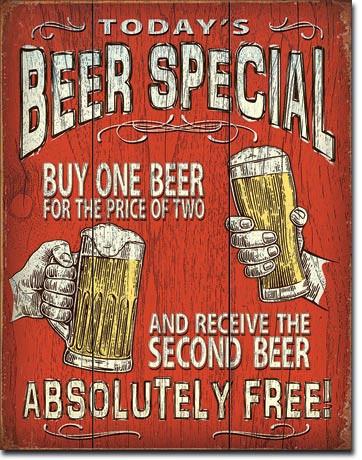 Today's Beer Specia
