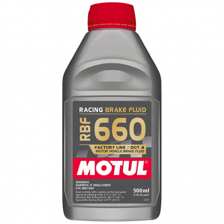 Motul Racing Brake Fluid RBF 660 0,5 l.