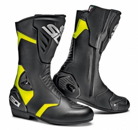 Sidi BLACK RAIN černá/žlutá
