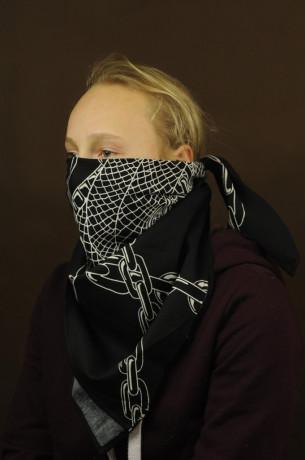 Bavlněný šátek - Had