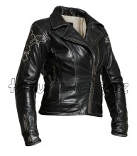Dámská motocyklová kožená bunda Halvarssons Casa Classic vel. 44