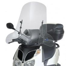 Aprilia Sportcity 125 / 200 / 250 (04-08) - čiré nižší plexi Givi 105A