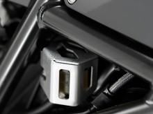 BMW F 700 GS Adventure (13-) kryt nádržky brzdové kapaliny, zadní stříbrný SW-Motech