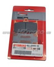 Yamaha TDM 900 (02-) Brzdové destičky přední - originál Yamaha